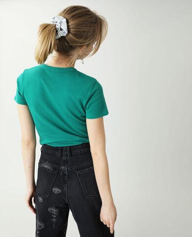 Basic T-shirt groen