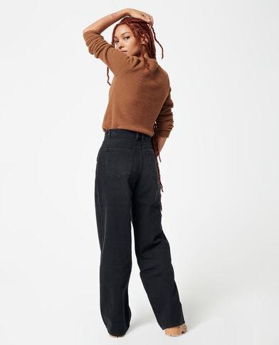 Straight-fit jeans zwart - Pimkie