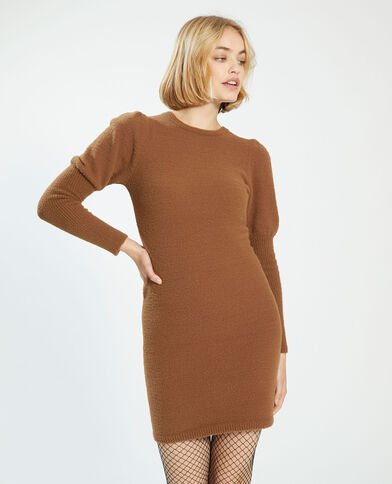 Trui-jurk karamel - Pimkie