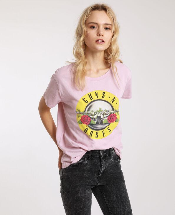 Guns N' Roses T-shirt roze