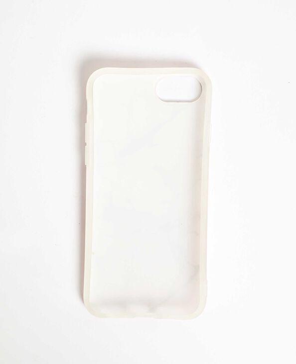 iPhone-hoesje met marmereffect roze