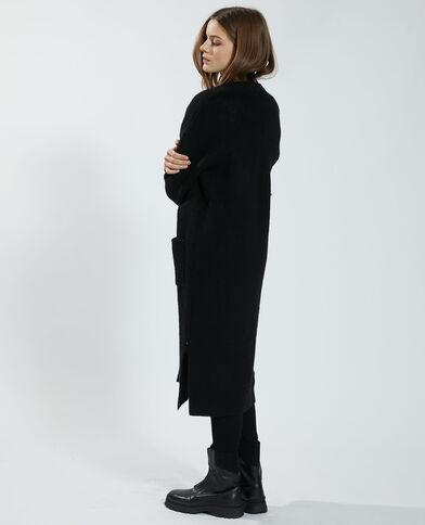 Lange cardigan zwart - Pimkie