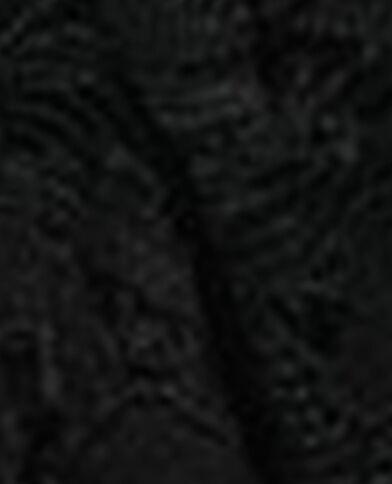 Kanten scrunchie zwart