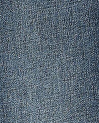 Jean skinny push up mid waist bleu brut