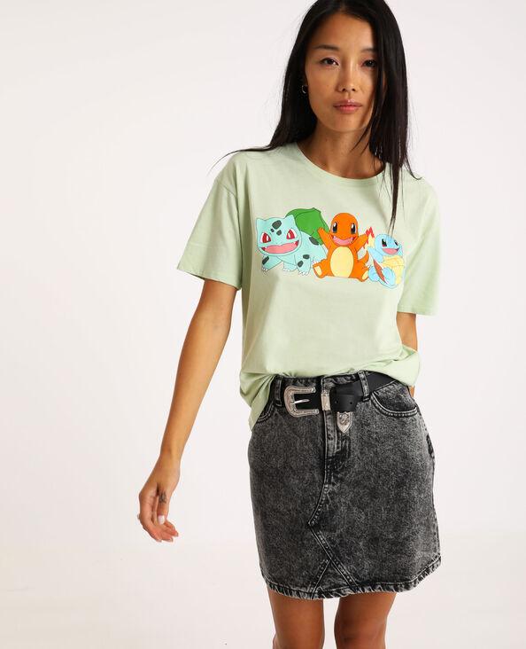 T-shirt van Pokémon groen