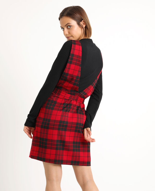 Robe chasuble rouge