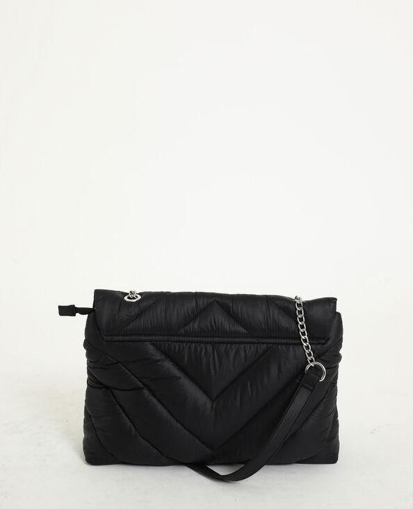 Gewatteerde handtas zwart