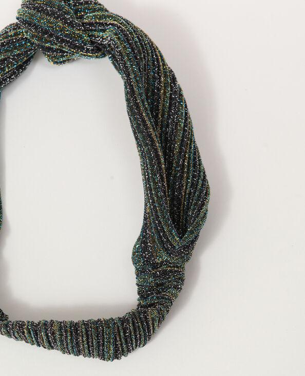 Haarband met glitters groen
