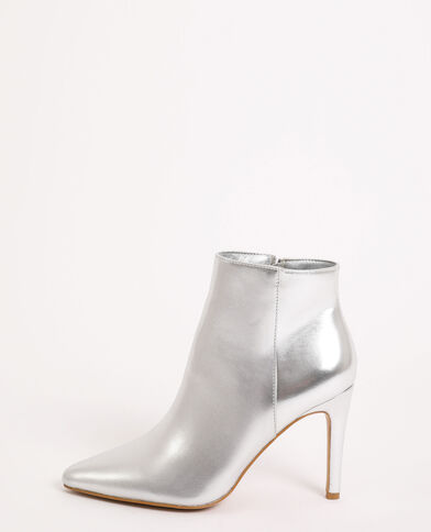 Laarzen met puntneus grijs