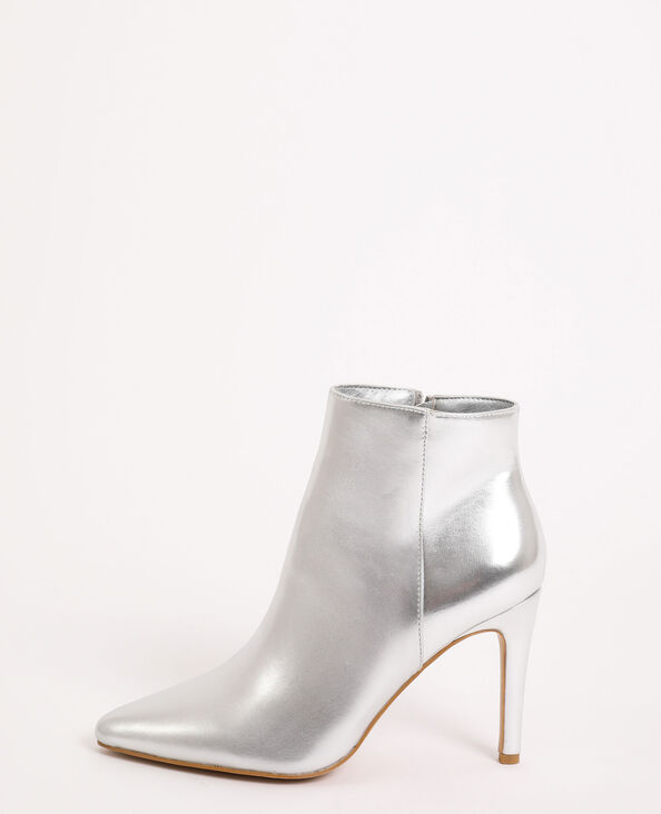 Boots pointues gris