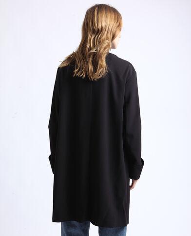 Lang jasje zwart