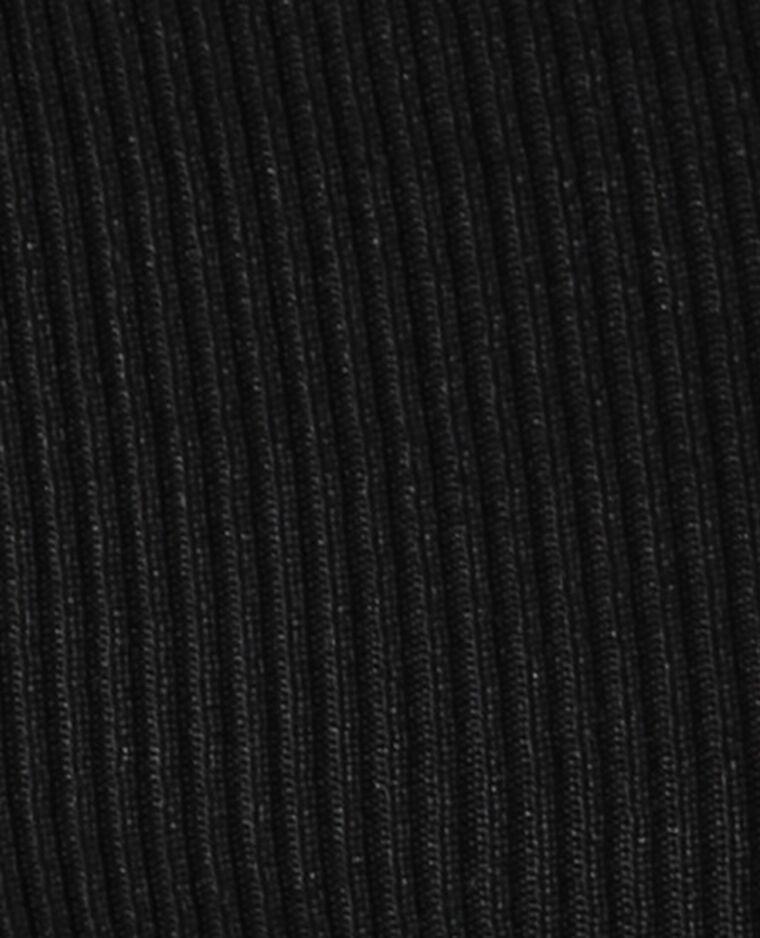 Polojurk van ribstof zwart - Pimkie