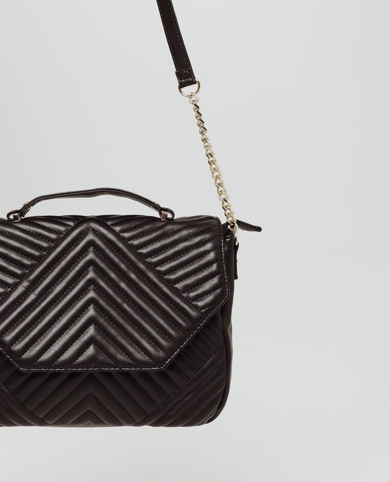 Gewatteerde tas zwart