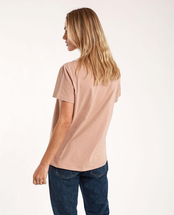 T-shirt met tekst camel