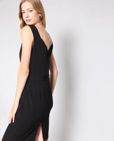 Robe col dentelle noir 1767de276334
