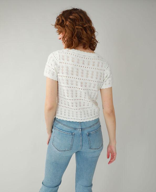 Cardigan van tricot gebroken wit - Pimkie
