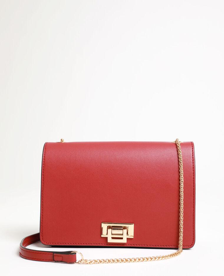 Petit sac bandoulière rouge - Pimkie