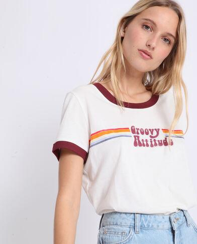 Vintage T-shirt ecru