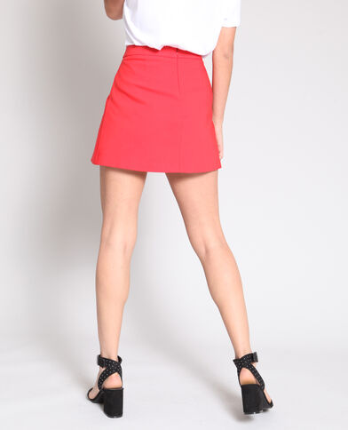 Jupe short rouge