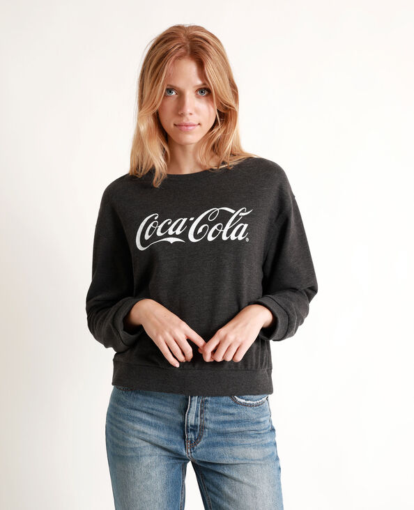 Coca-Cola sweater antracietgrijs