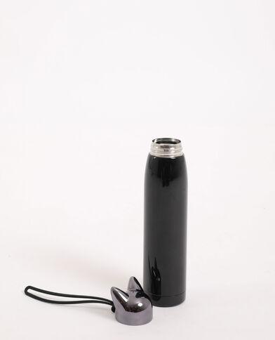 Drinkfles kat zwart