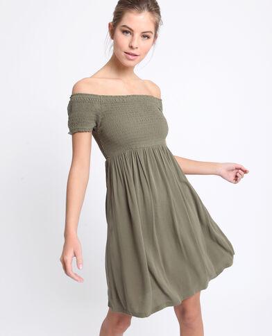 Korte jurk groen