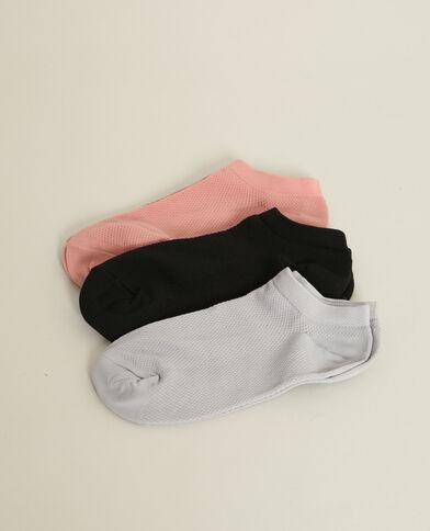 Lot de 3 paires de chaussettes noir