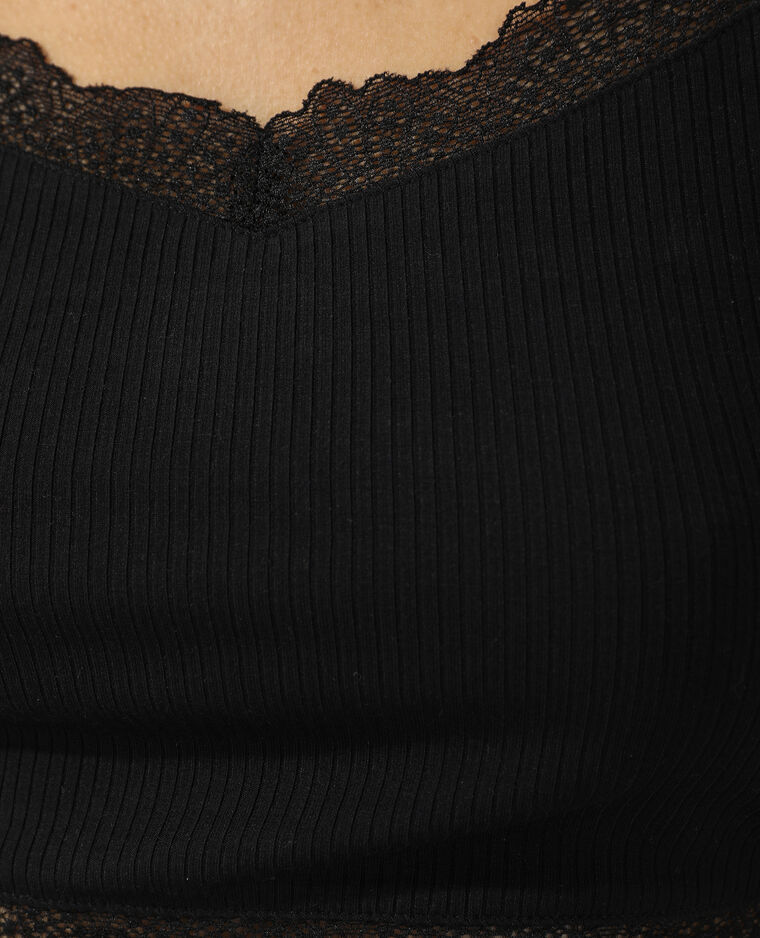 Bralette à dentelle noir - Pimkie