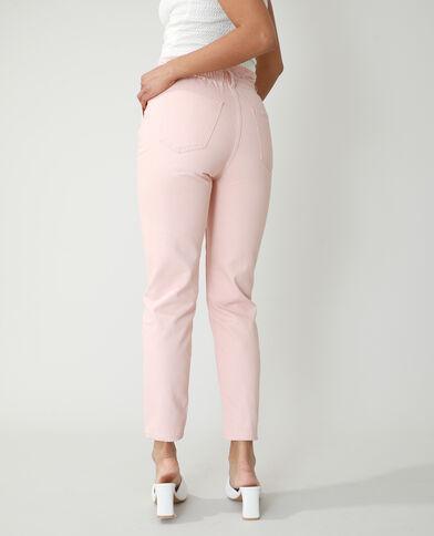 Momjeans met hoge taille roze - Pimkie