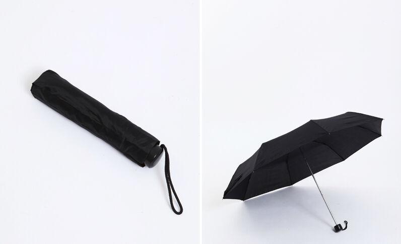 Uitschuifbare paraplu zwart