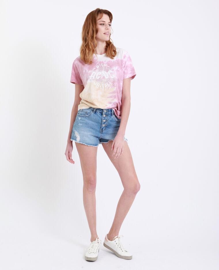 T-shirt AC/DC rose