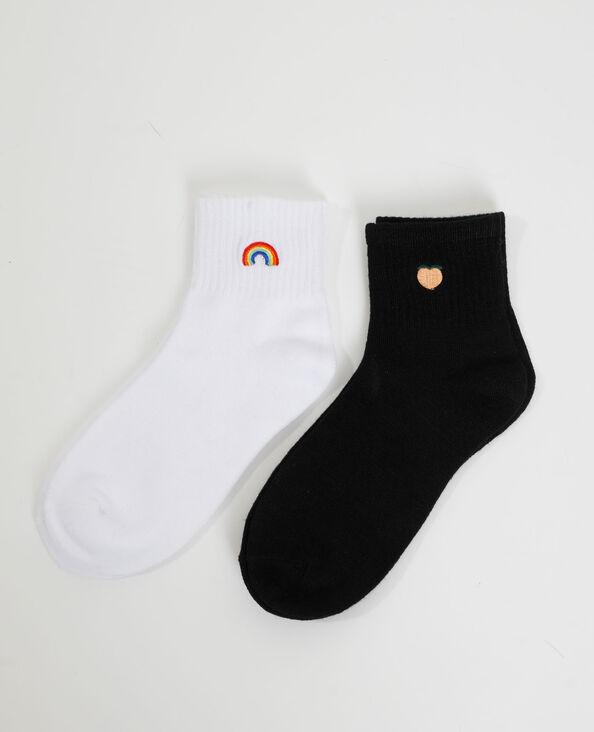 2 paar sokken zwart - Pimkie