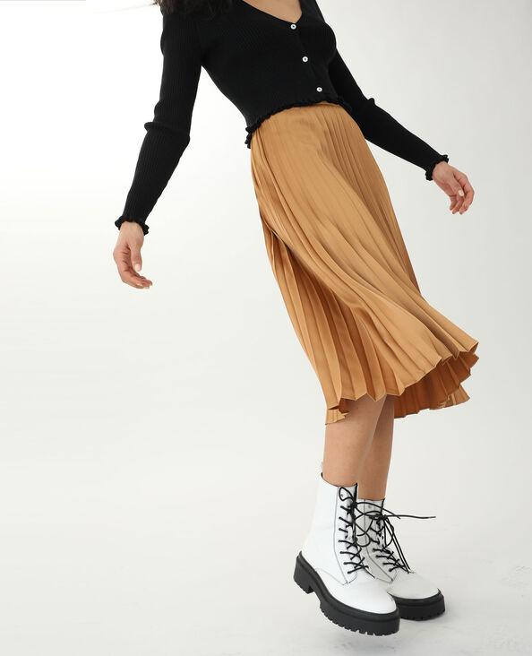 Lange rok karamel