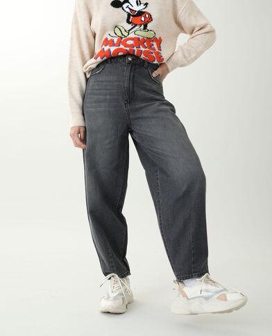 Slouchy jeans zwart - Pimkie