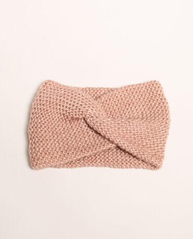 Gedraaide haarband roze