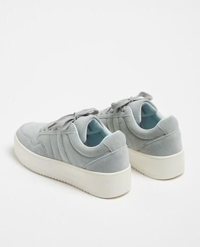 Sneakers met plateauzolen groen