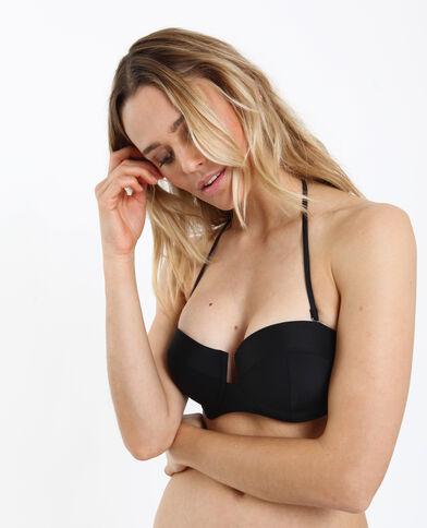 Haut de bikini corbeille noir