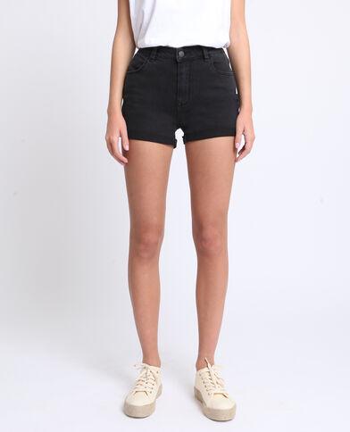 Jeansshort zwart
