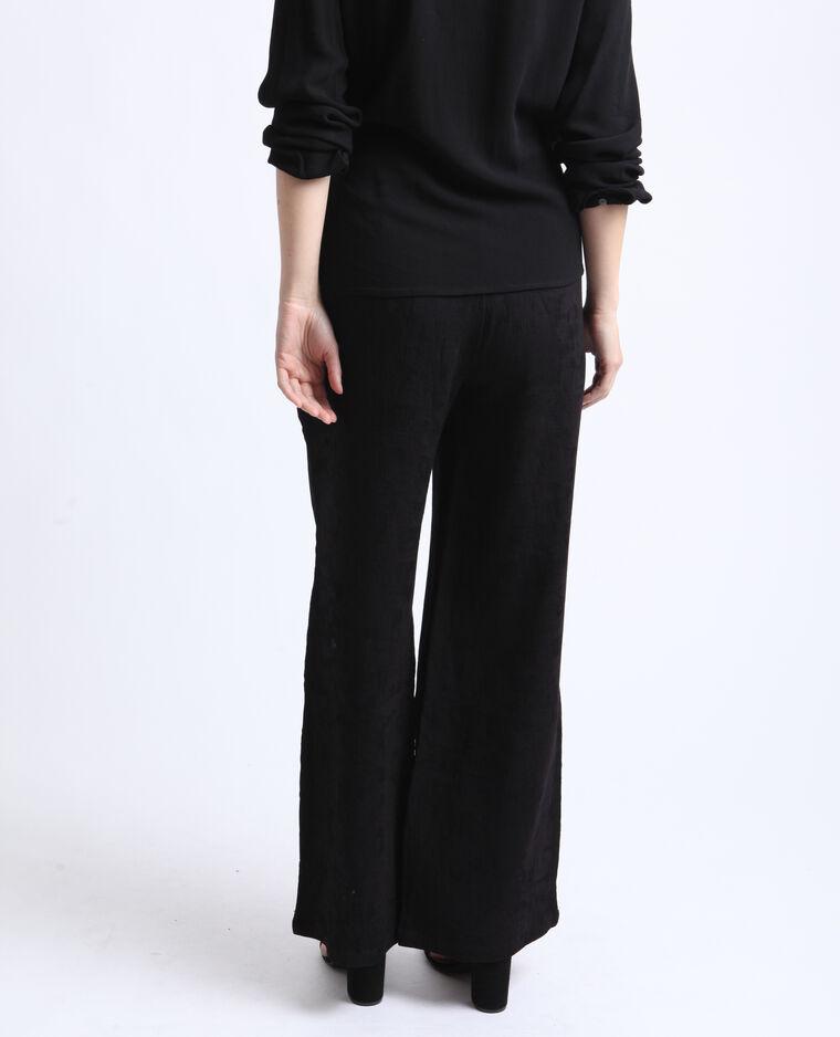 Brede broek zwart