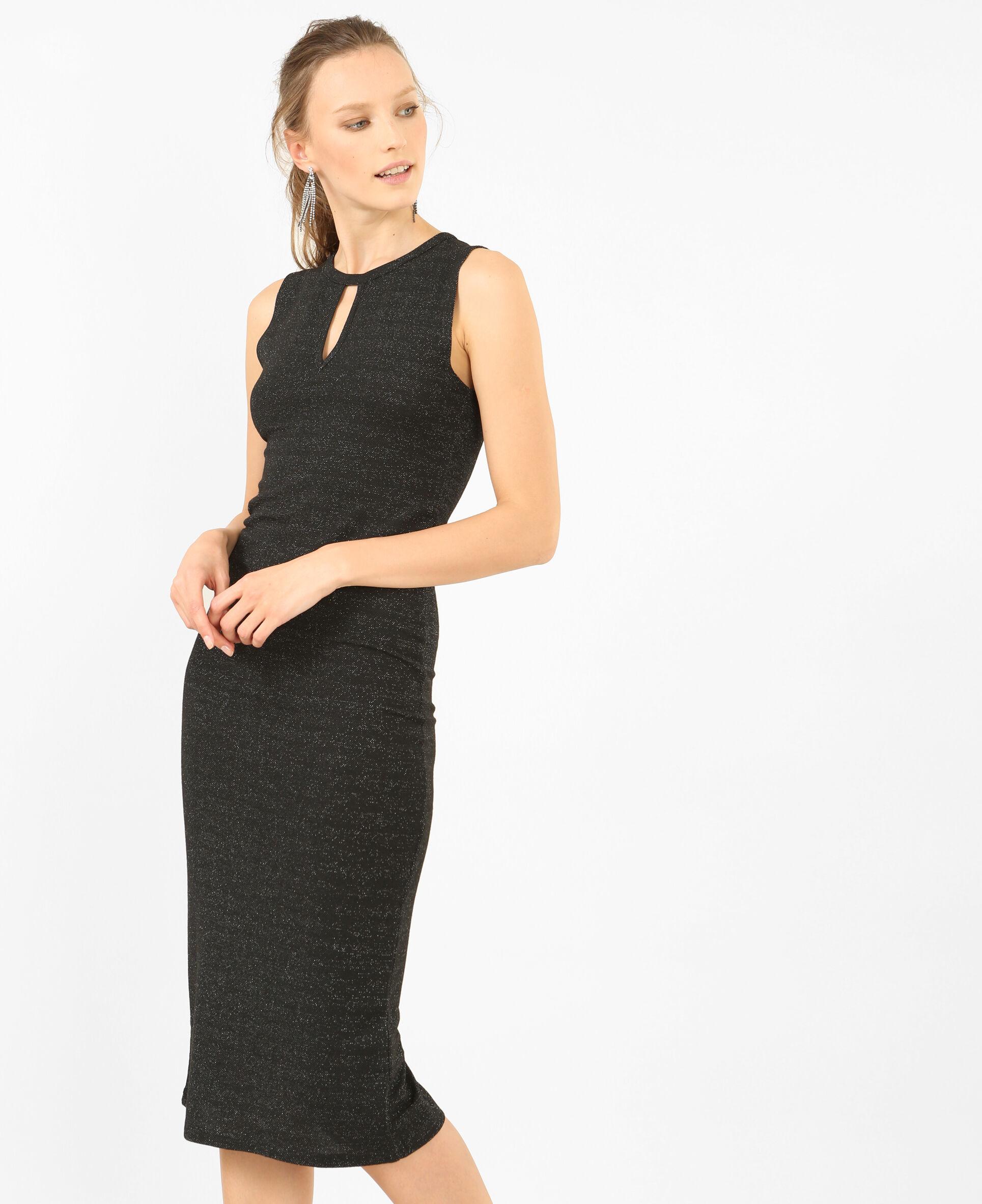 lange strakke jurk
