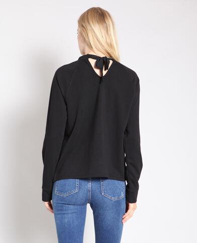 Sweater met studs zwart