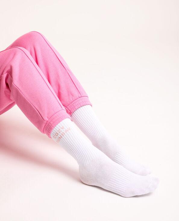 Chaussettes loungewear blanc