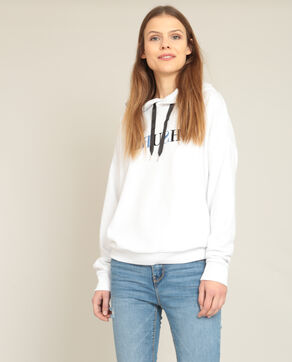 Sweater met kap wit