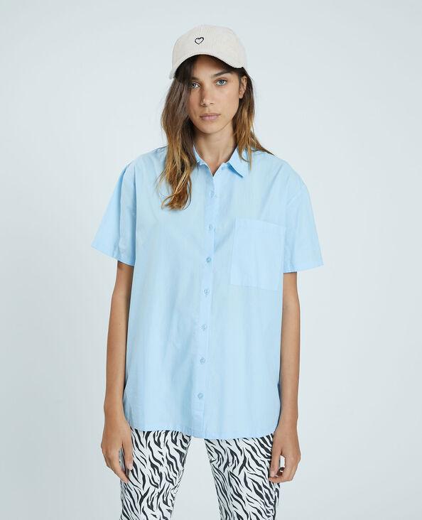 Oversized hemdje blauw - Pimkie