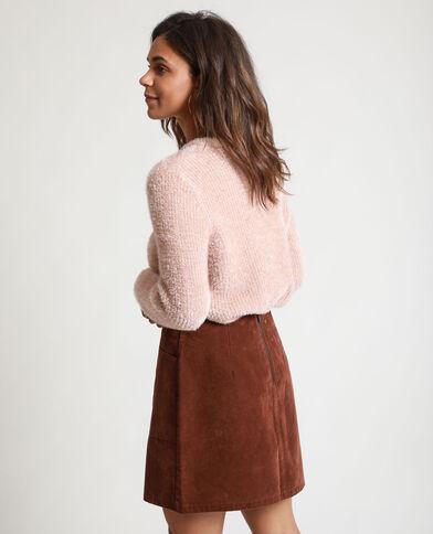 Fluffy trui roze