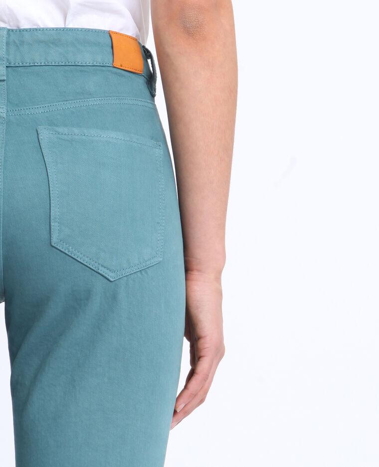 Jean mid waist vert
