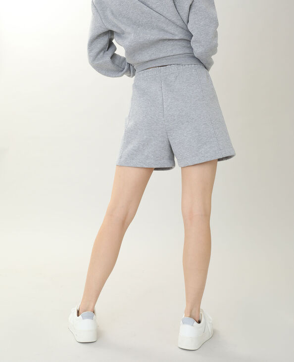 Short van molton grijs - Pimkie