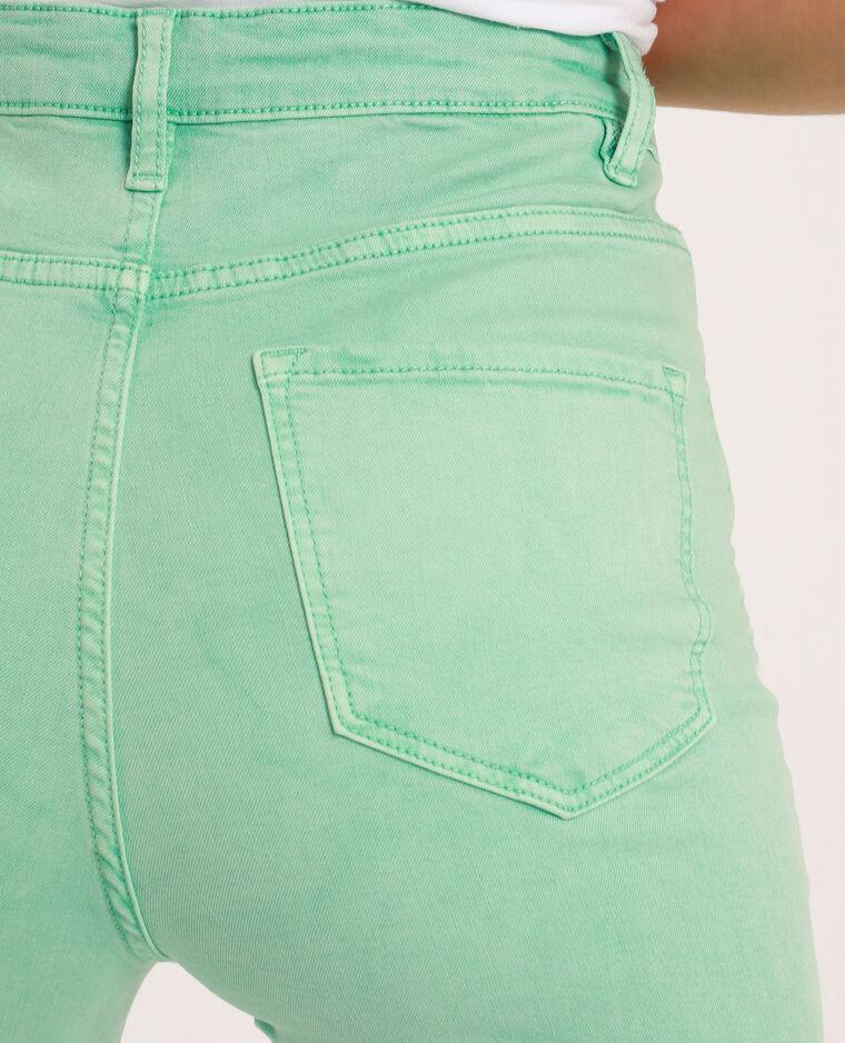 Pantalon skinny high waist vert - Pimkie