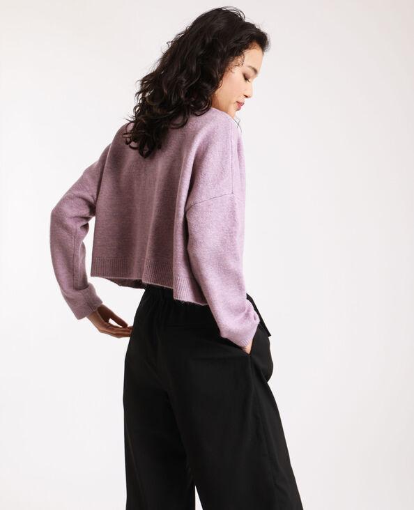 Kort vest violet