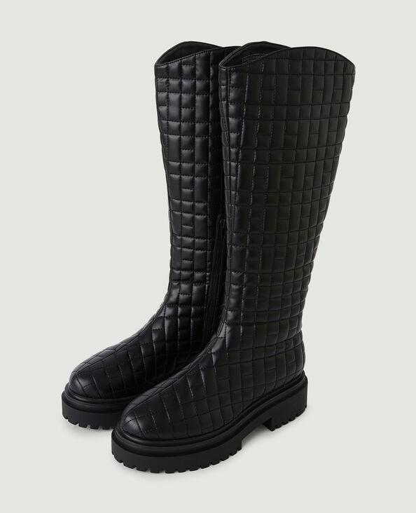 Gewatteerde laarzen zwart - Pimkie